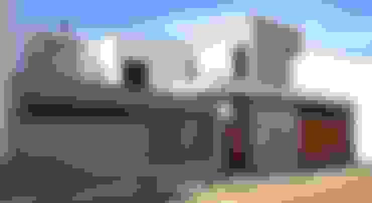 Casas de estilo  por ESTUDIO P ARQUITECTO