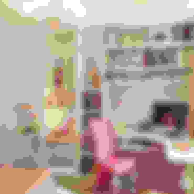 Hilal Tasarım Mobilya – Genç Odası:  tarz Çalışma Odası