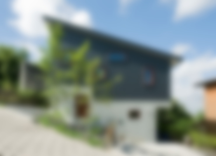 外観: アール・アンド・エス設計工房が手掛けた家です。