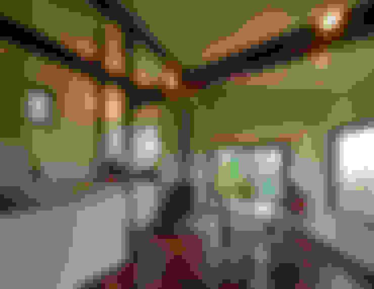 Dining room by アール・アンド・エス設計工房
