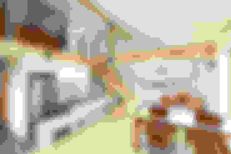 Гостиная в . Автор – 주택설계전문 디자인그룹 홈스타일토토