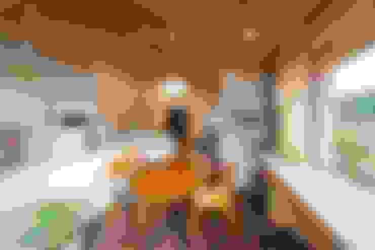 Dining room by キリコ設計事務所