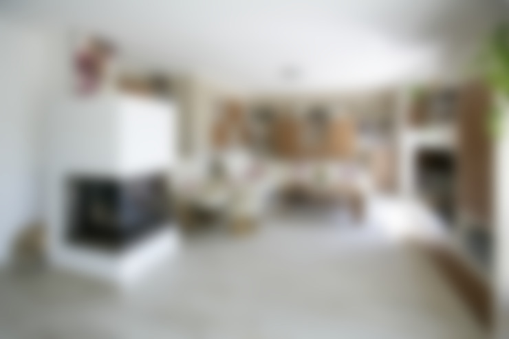 Living room by Fertighaus Servicebüro Schwarz