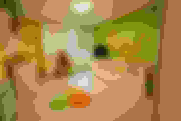 غرفة نوم تنفيذ Saez Sanchez. Arquitectos