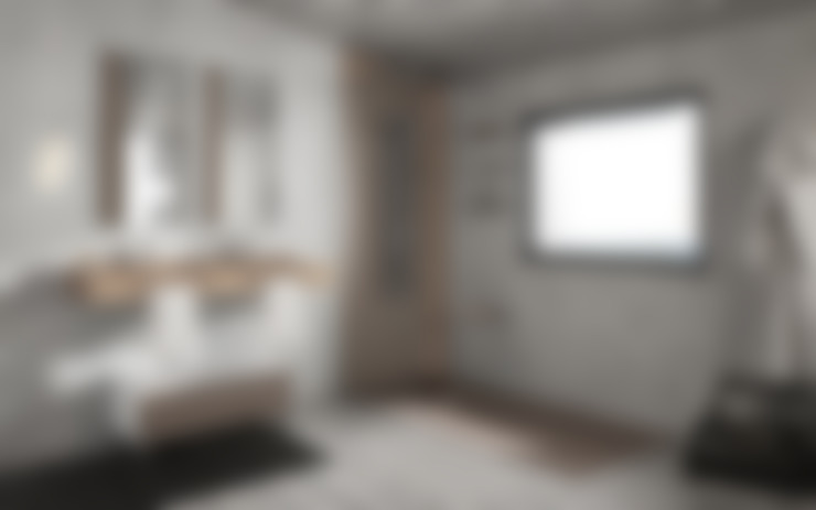 Bathroom by MUEBLES OYAGA