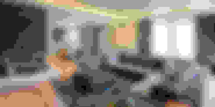 RADIO TPU – Kanca Evi Salon Tamamlanmış Proje 02:  tarz Oturma Odası