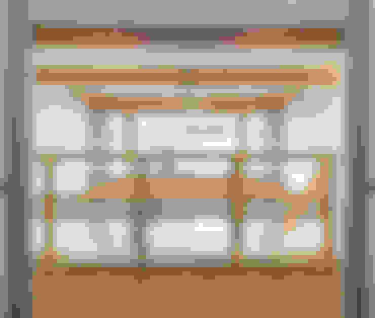 岡本建築設計室의  복도 & 현관