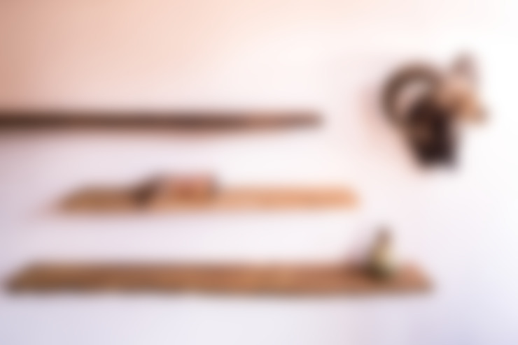 Wandplanken:  Woonkamer door Houthandel van Steen | Man-made furniture