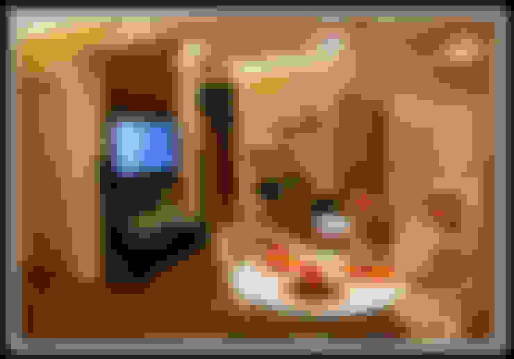 غرفة السفرة تنفيذ Дизайн-студия «ARTof3L»
