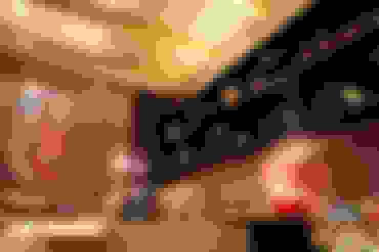 Media room by Mariana Borges e Thaysa Godoy