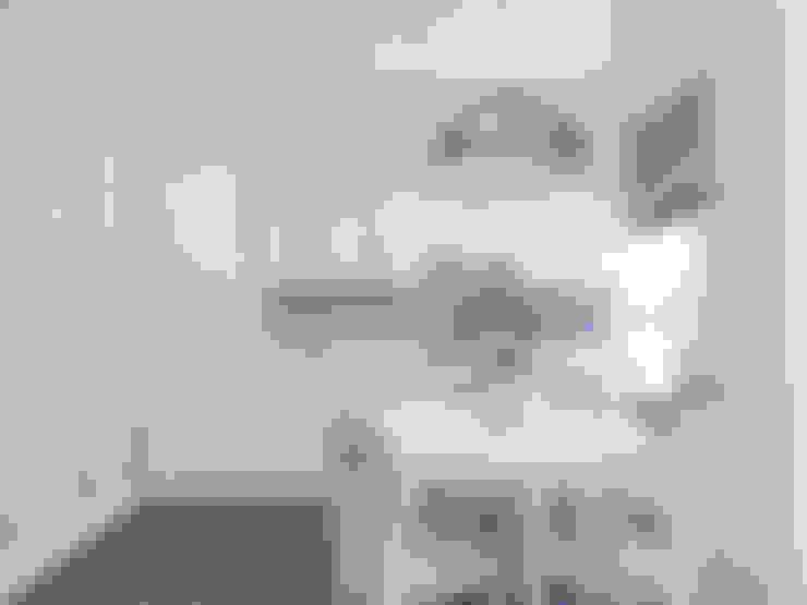 СЕВЕРНОЕ СИЯНИЕ. КВАРТИРА В ПОДМОСКОВЬЕ: Кухни в . Автор – Volkovs studio