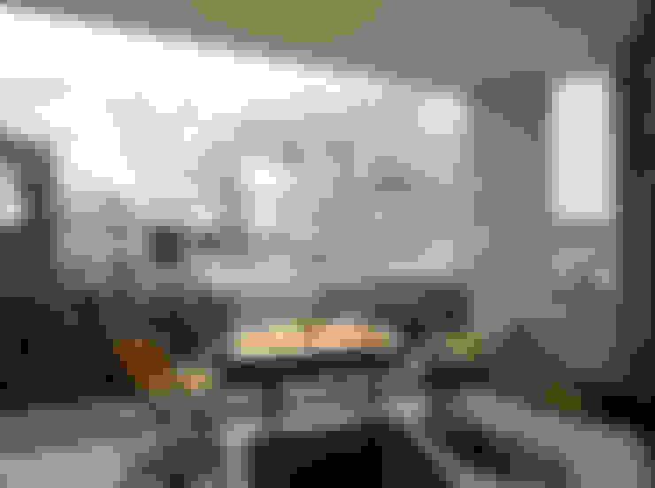 上馬の家: 向山建築設計事務所が手掛けたテラス・ベランダです。