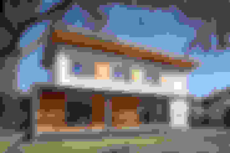 Casas de estilo  por Novello Case in Legno