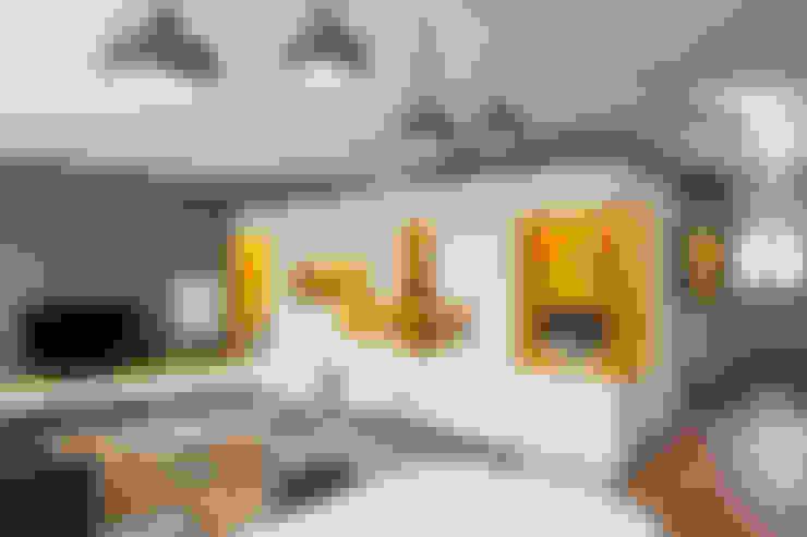 Wohnzimmer von Agence Glenn Medioni