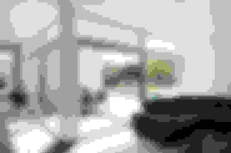 Salas / recibidores de estilo  por x42 Architektur ZT GmbH