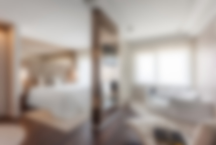 غرفة نوم تنفيذ Movelvivo Interiores