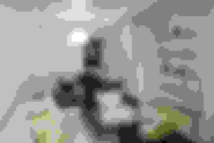 Salas de estilo  por Martins Lucena Arquitetos