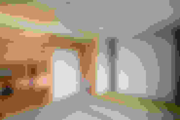 視聽室 by 尾日向辰文建築設計事務所