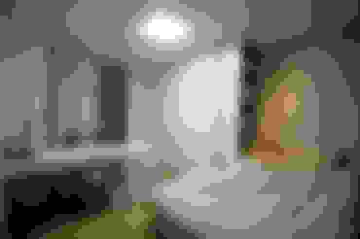 호텔식 트윈룸_34py: 홍예디자인의  아이방