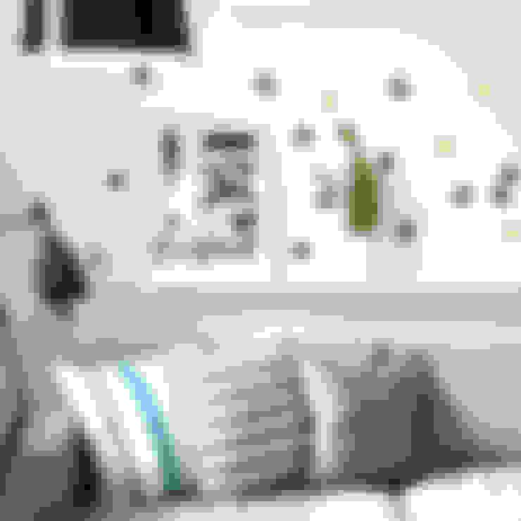 Paredes y pisos de estilo  por SASSAFRAS