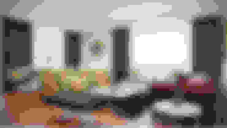 غرفة المعيشة تنفيذ Decora