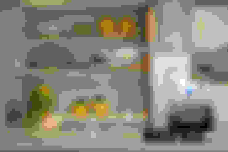 Cocinas de estilo  por Amanda Carvalho - arquitetura e interiores