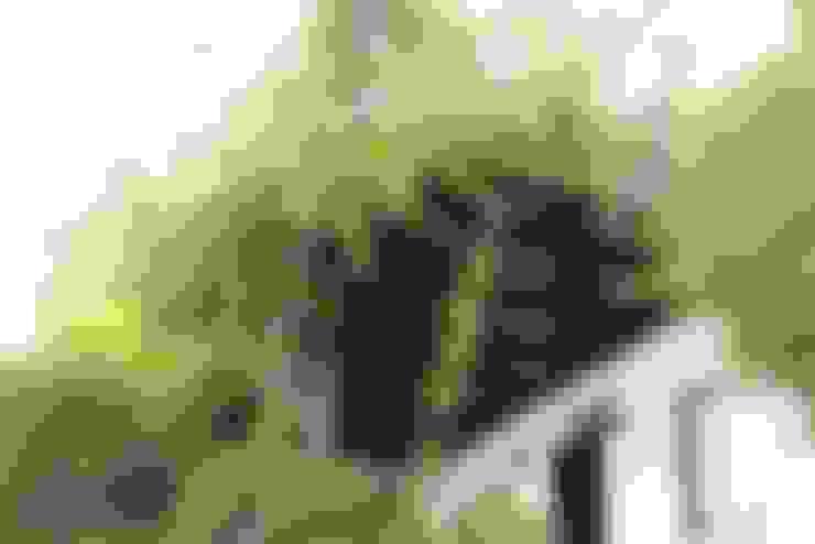 AÇIT MİMARLIK DEKORASYON İNŞ. SAN. TİC. LTD. – O.A. Ev Bodrum:  tarz Teras