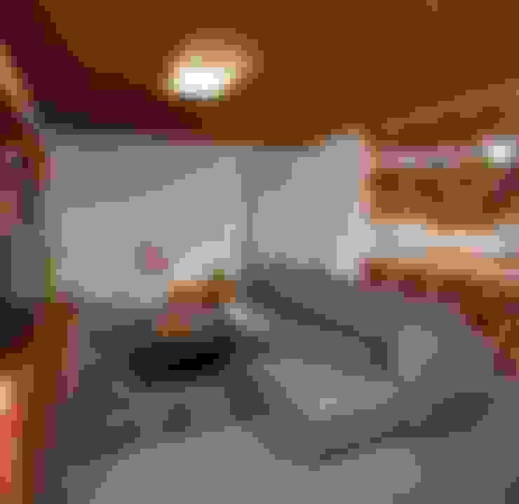 Livings de estilo  por LGZ Taller de arquitectura