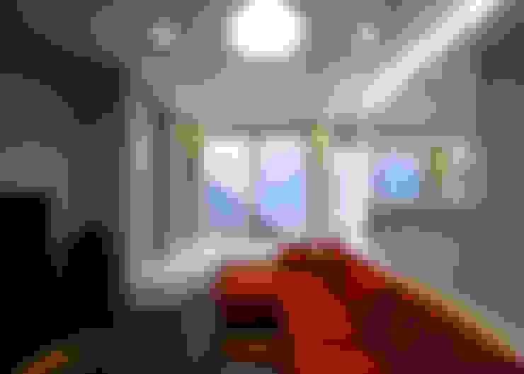 Projekty,  Salon zaprojektowane przez 本田建築設計事務所