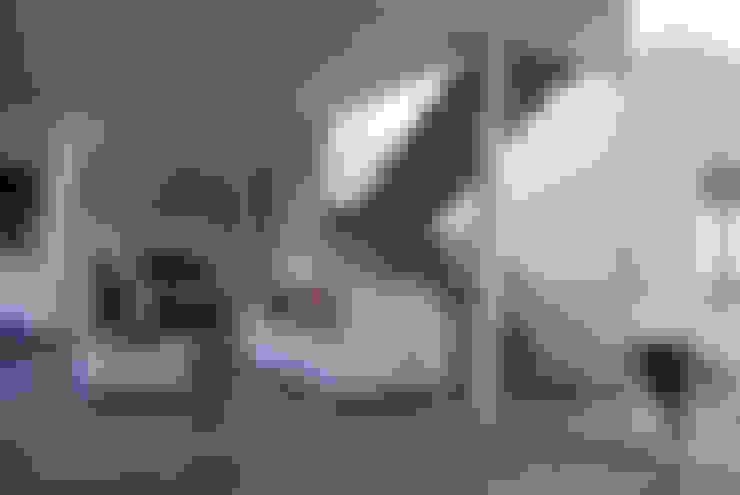 Casa en Manatiales - Casa del músico: Livings de estilo  por barqs bisio arquitectos