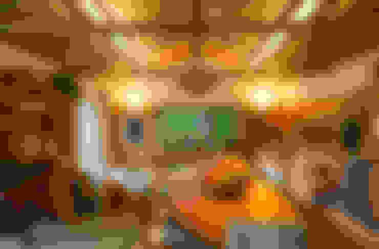 Casa Cor 2015/ A Casa da Gente: Salas de jantar  por Marina Linhares Decoração de Interiores