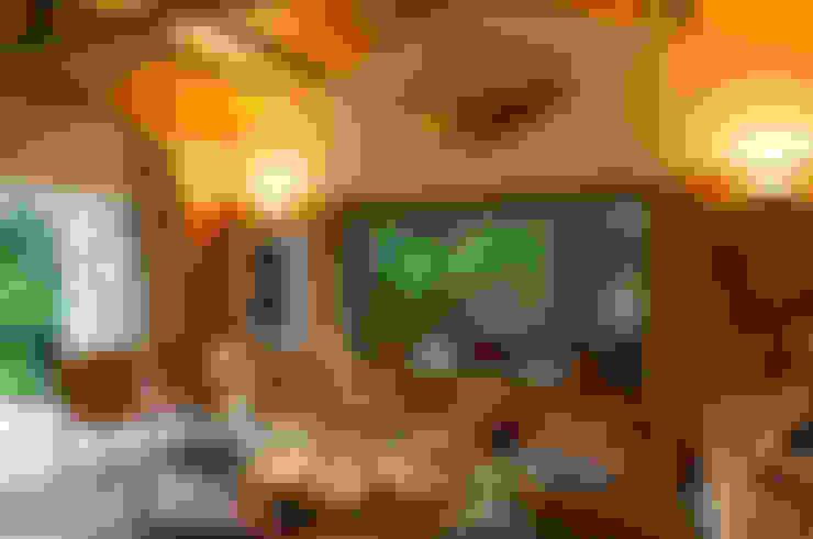 Salas de estar  por Marina Linhares Decoração de Interiores