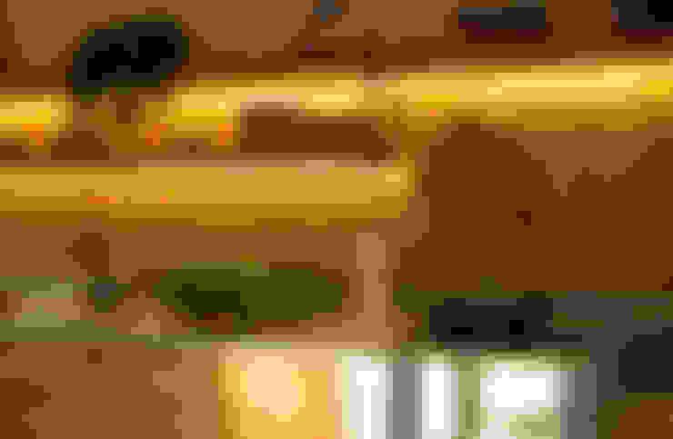 مطبخ تنفيذ Marina Linhares Decoração de Interiores