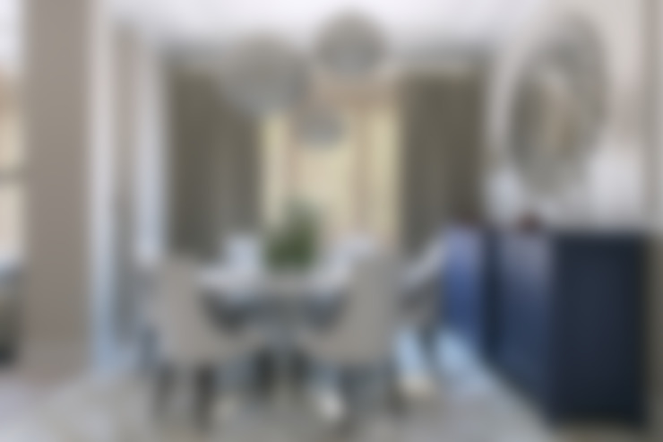 Salas de jantar  por СВЕТЛАНА АГАПОВА ДИЗАЙН ИНТЕРЬЕРА