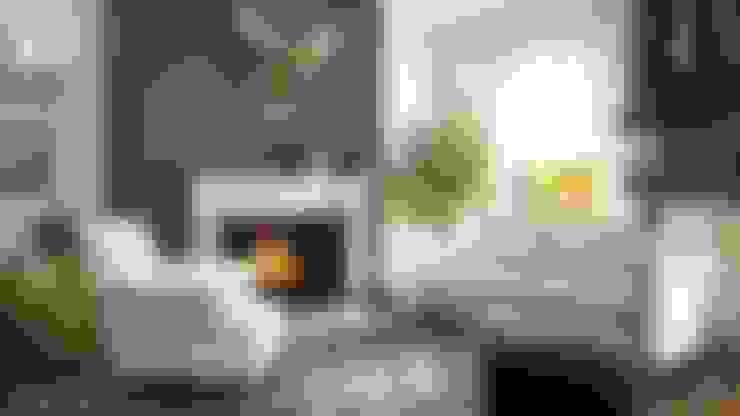 غرفة المعيشة تنفيذ Böker Design Studio