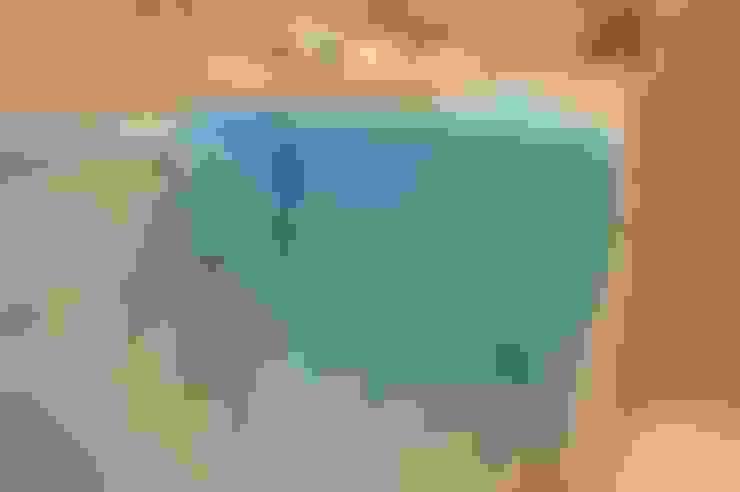 Ropa de cama, toallas de baño y mantelería: Baños de estilo  por Blanc Nature
