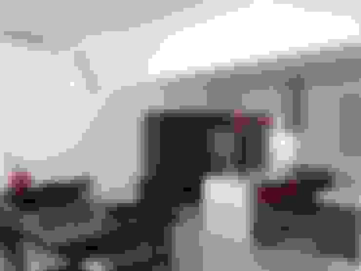Salas de jantar  por SANTIAGO PARDO ARQUITECTO