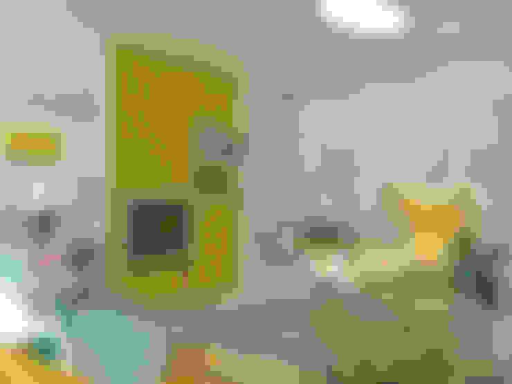 Дизайн-проект в ЖК Миргород: Гостиная в . Автор – Details, design studio