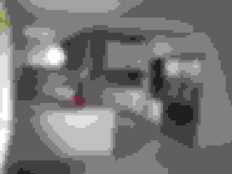 Ligth Grey: Cozinha  por CW