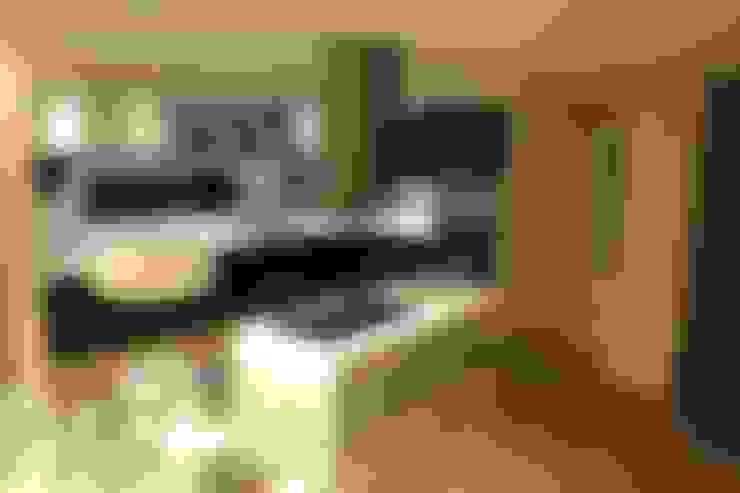 vivenda unifamilar MORENO: Cocinas de estilo  por cm espacio & arquitectura srl