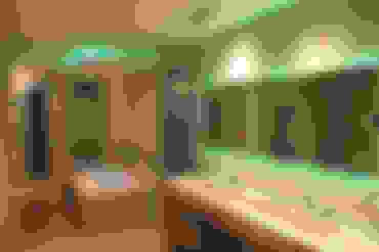 Banheiros  por cm espacio & arquitectura srl