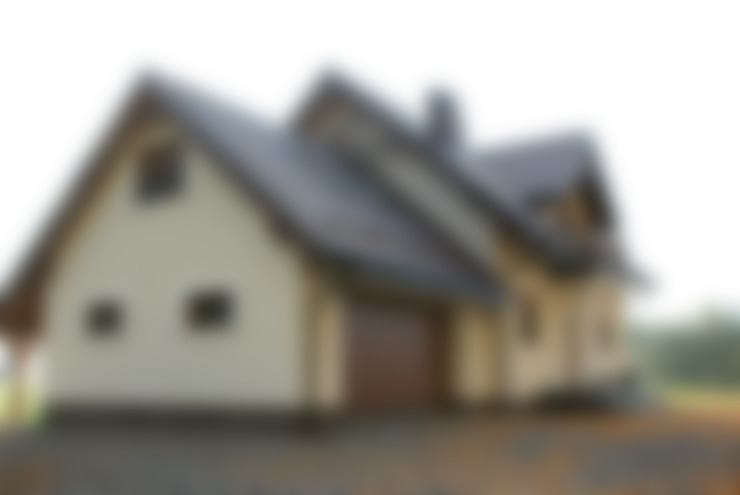 Casas de estilo  de Biuro Projektów MTM Styl - domywstylu.pl
