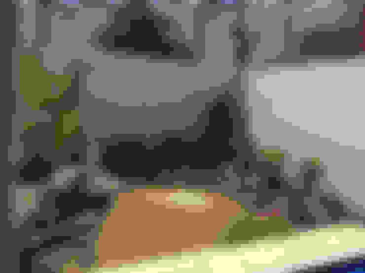 حديقة صخرية تنفيذ homify