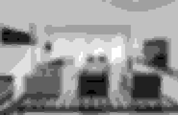 Apartamento Cascais: Salas de estar  por Silvia Costa    Arquitectura de Interiores