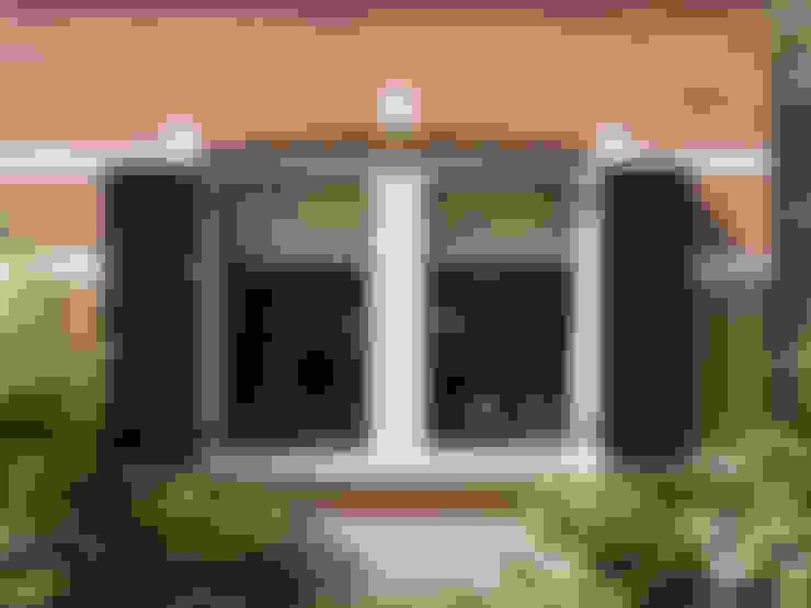 Villa te Zeist - Detail raamkozijn:  Ramen door Friso Woudstra Architecten BNA B.V.