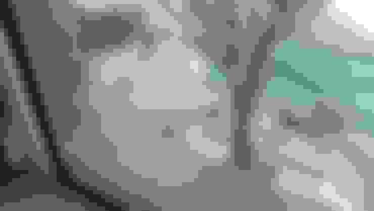 PASEO DE LAS CORDILLERAS 11, lomas de angelopolis: Paredes de estilo  por bageti proyectos