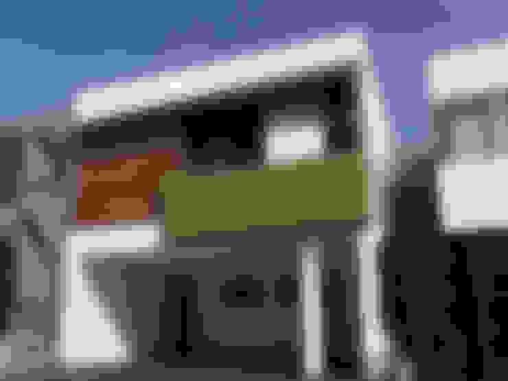 Casas de estilo  por AaC+V Arquitectos