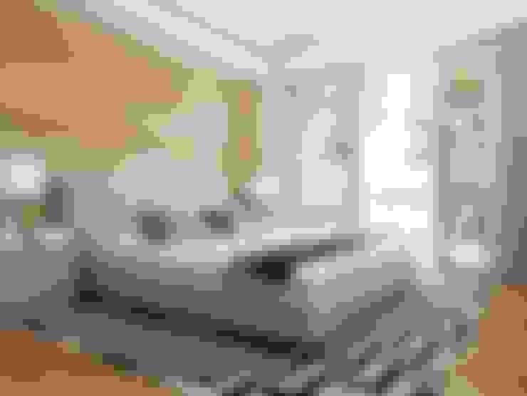 غرفة نوم تنفيذ Greg Natale Design