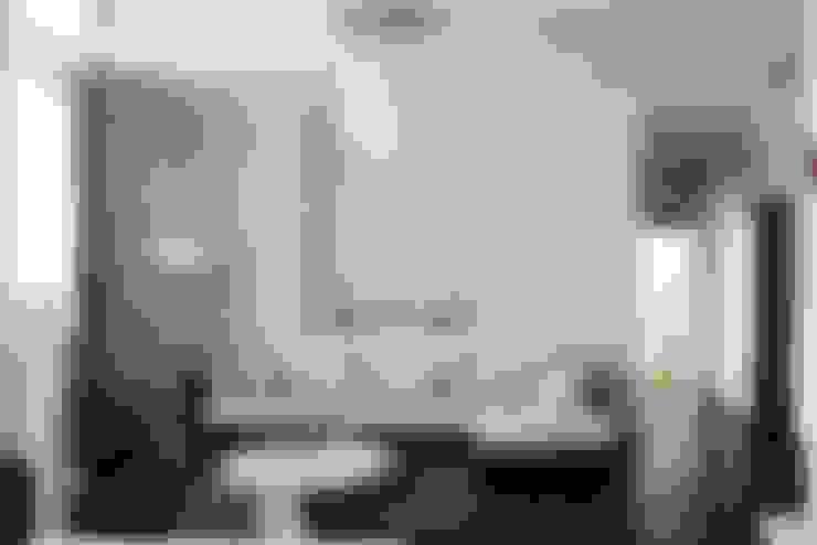 Projekty,  Salon zaprojektowane przez Address