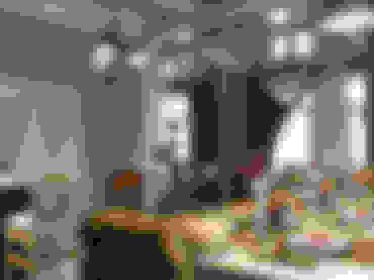 Столовая: Столовые комнаты в . Автор – Студия Архитектуры и Дизайна Алисы Бароновой